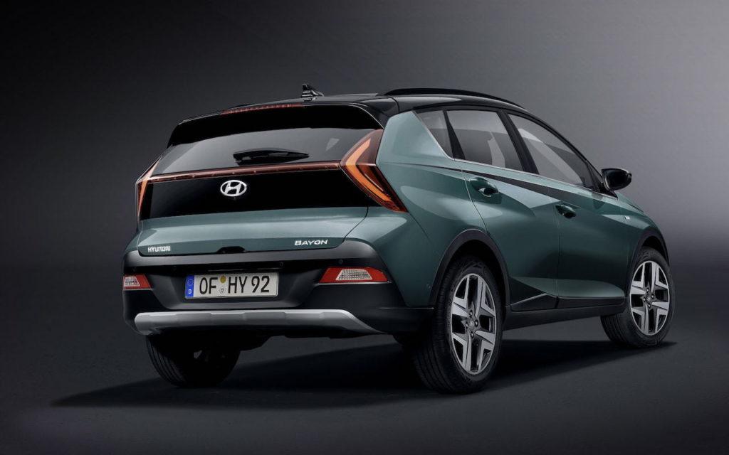 Hyundai Bayon rear quarters