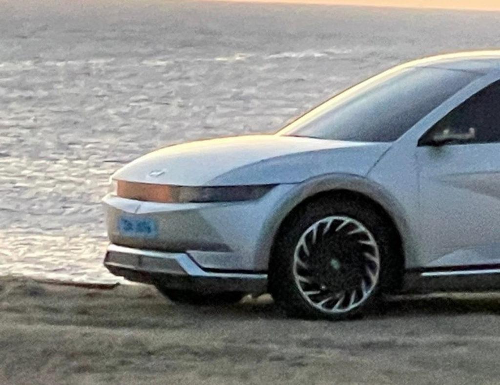 Hyundai Ioniq 5 front leaked image