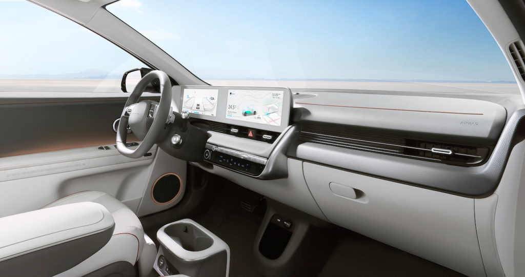 Hyundai Ioniq 5 interior dashboard
