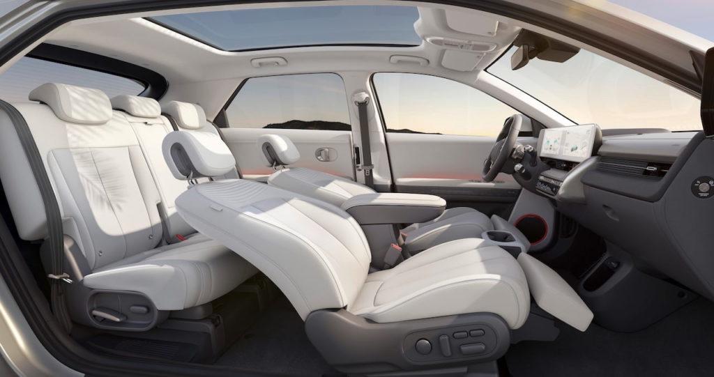 Hyundai Ioniq 5 interior seats cabin