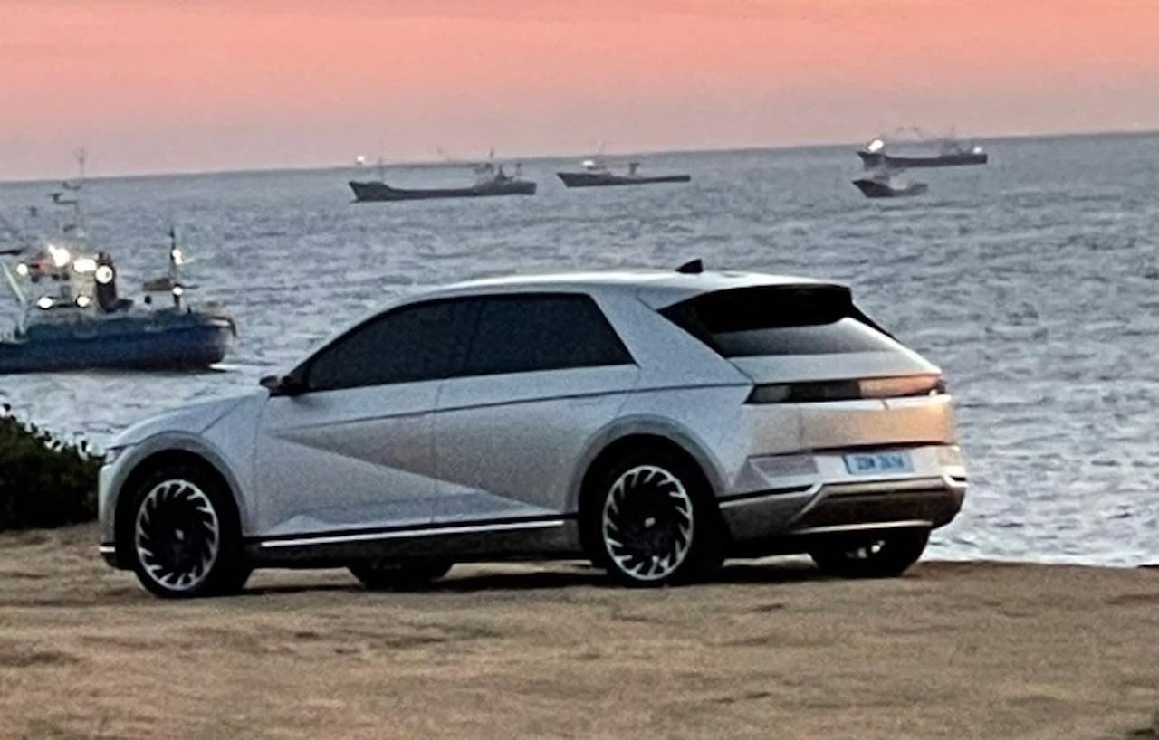 Hyundai Ioniq 5 leaked image