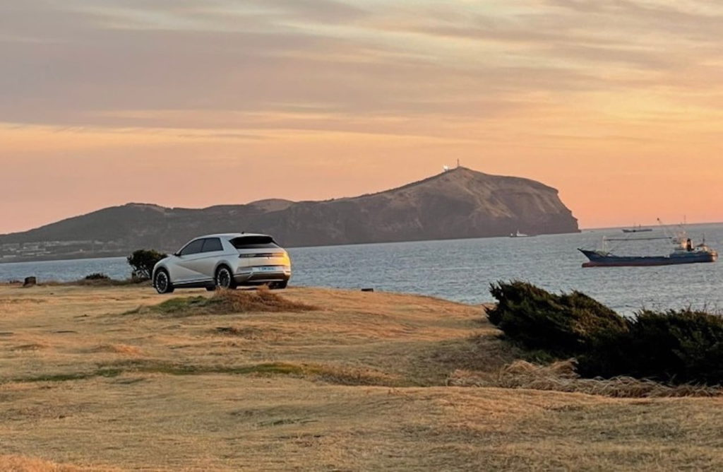 Hyundai Ioniq 5 rear three quarters leaked image