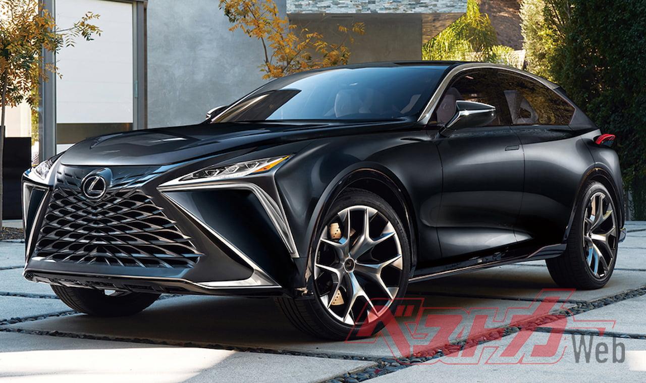 Lexus LF SUV Coupe rendering