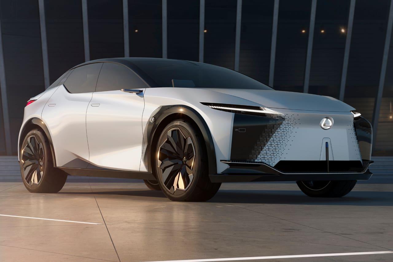 Lexus LF-Z concept front three quarters