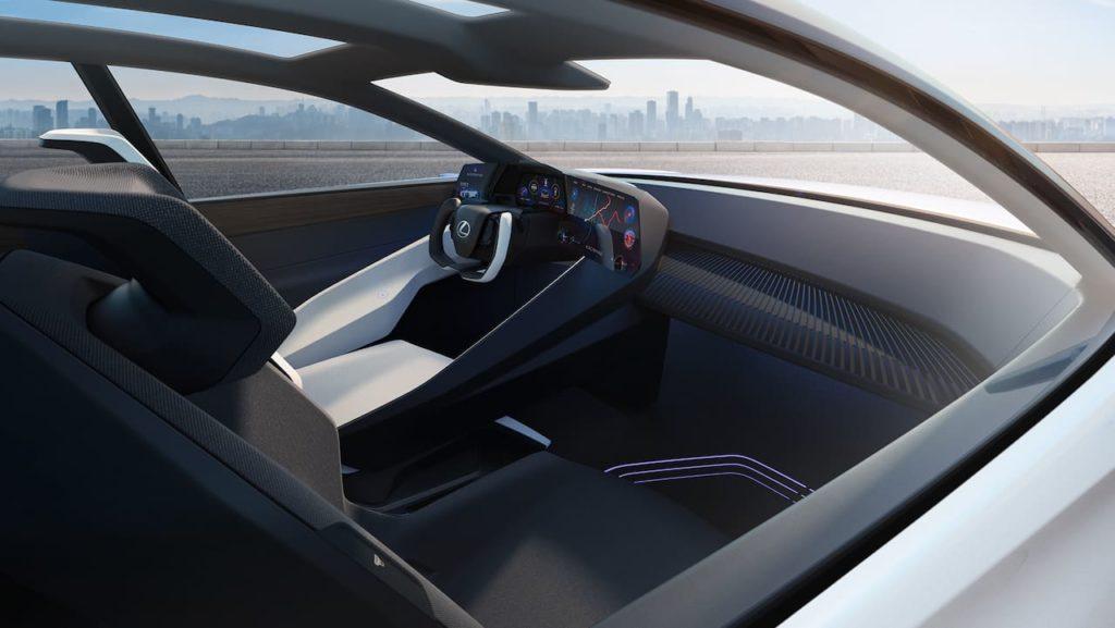 Lexus LF-Z concept interior