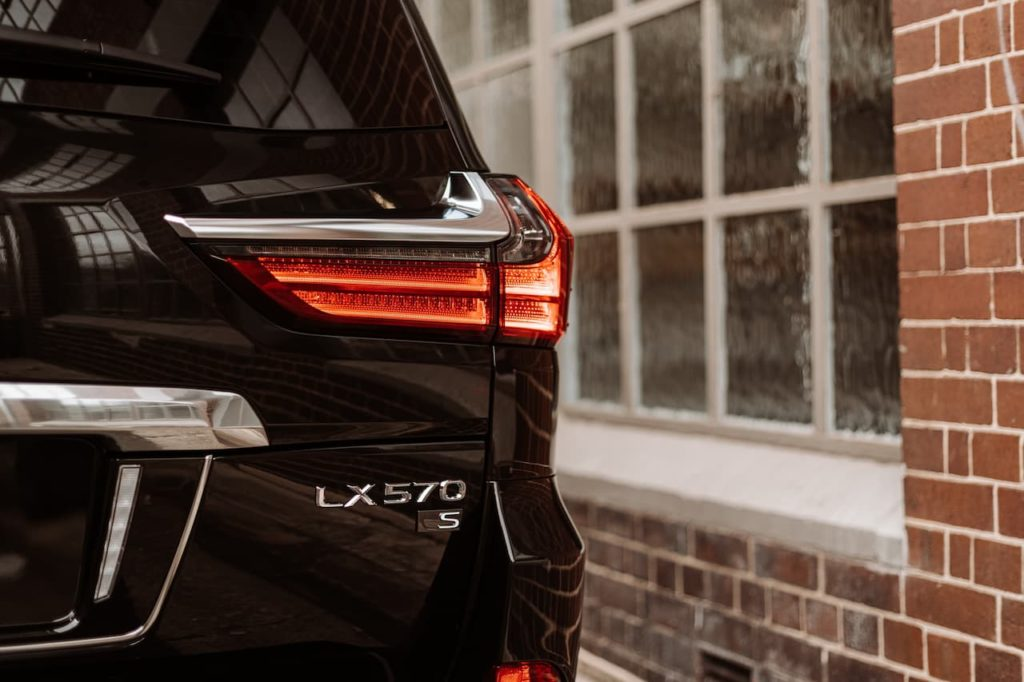 Lexus LX 570 S badge could be used on the 2022 Lexus LX