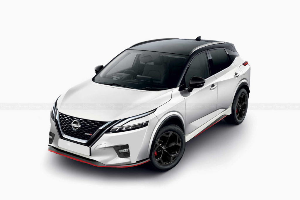 Nissan Qashqai NISMO or Nissan Rogue Sport NISMO rendering