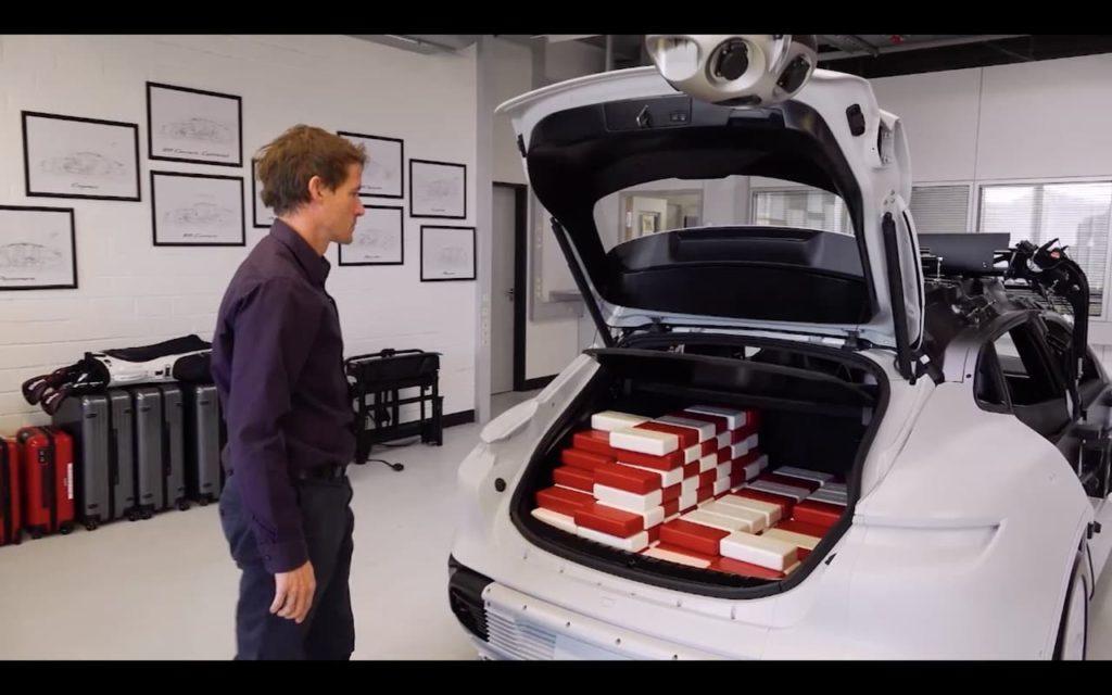 Porsche Taycan Cross Turismo luggage space