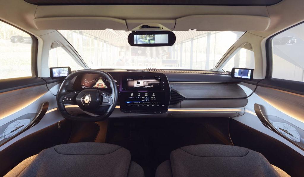 Renault Symbioz interior dashboard demo car