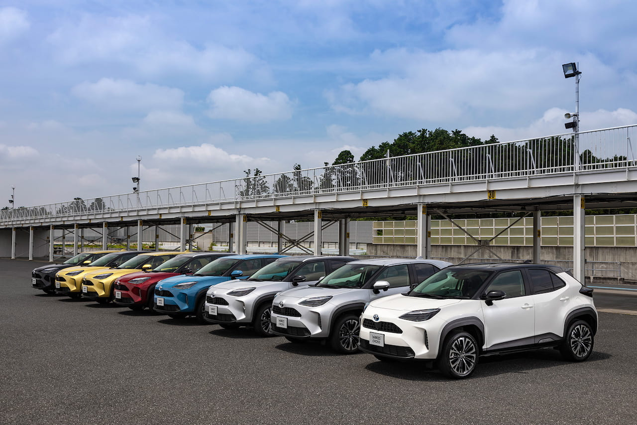 Toyota Yaris Cross colors