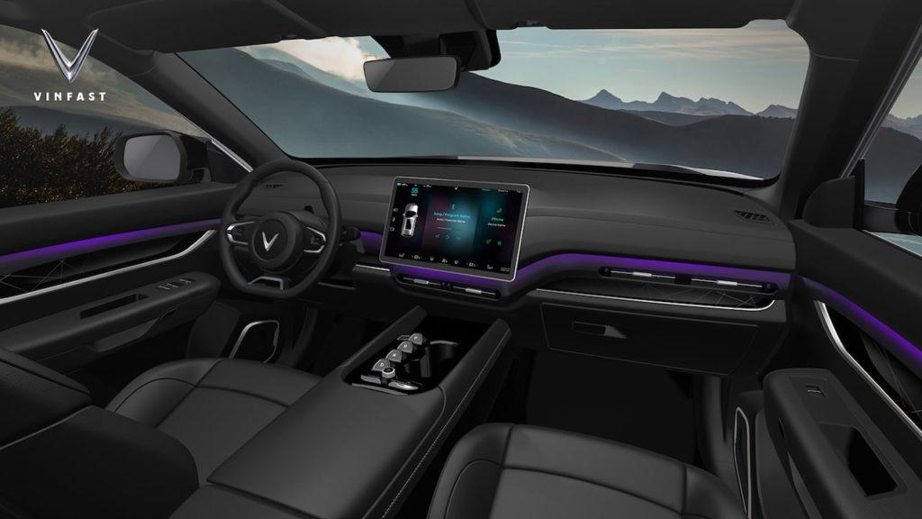 VinFast VF32 interior