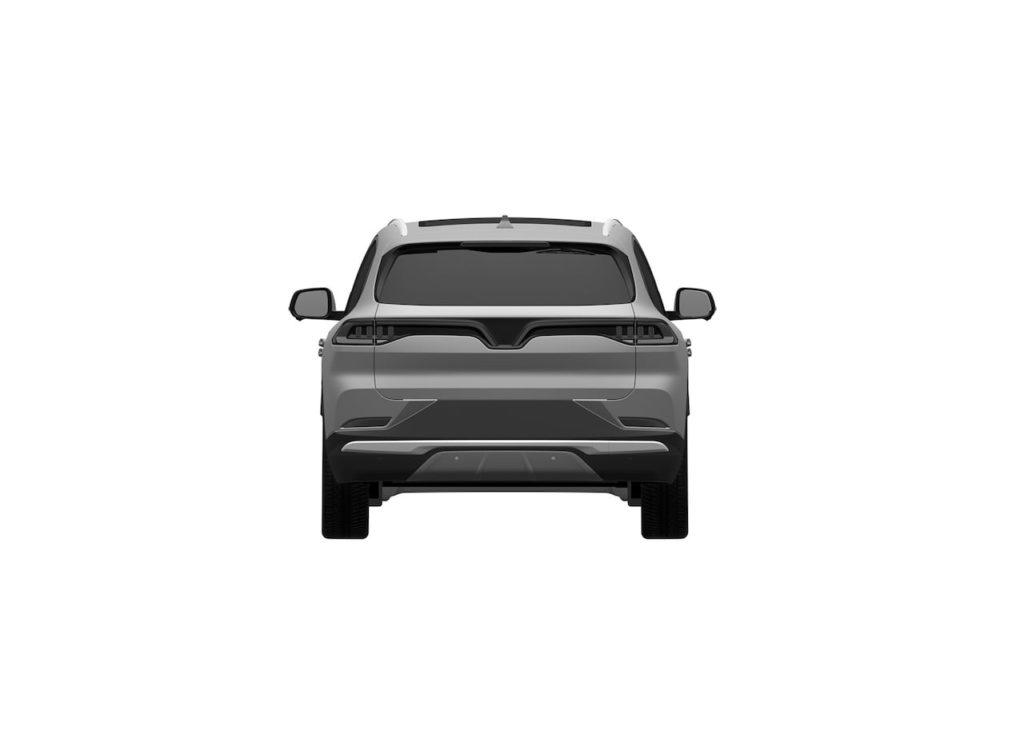 VinFast VF32 rear patent image