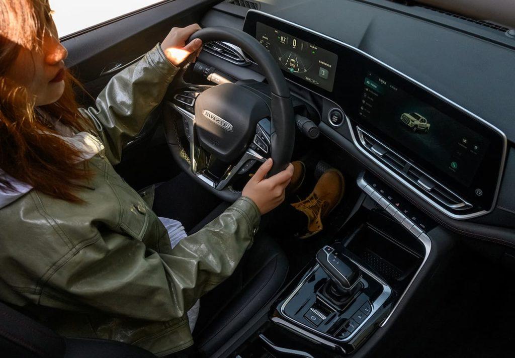 2021 Maxus T90 interior dashboard