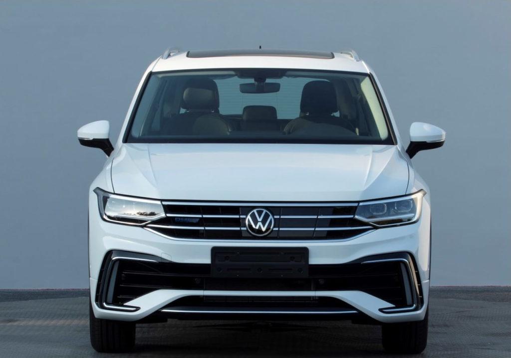 2021 VW Tiguan Allspace PHEV facelift front