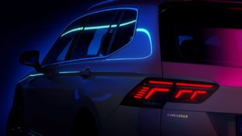 2021 VW Tiguan Allspace (facelift) teased, will come in a PHEV