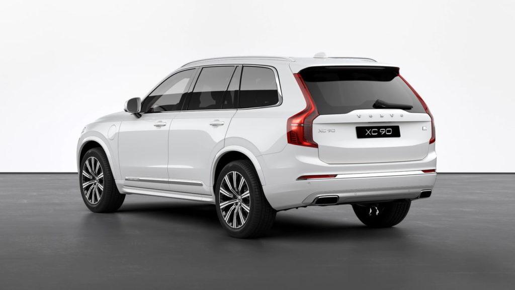 2021 Volvo XC90 Inscription rear quarters