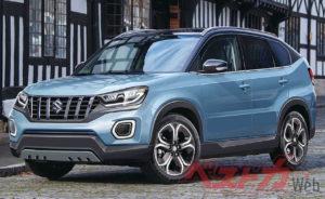 2021 Suzuki Vitara front three quarters rendering