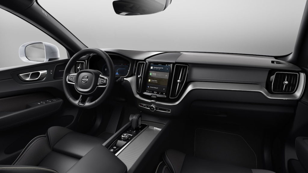 2022 Volvo XC60 facelift Polestar Engineered interior dashboard