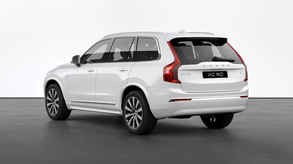 2022 Volvo XC90 Inscription rear quarters