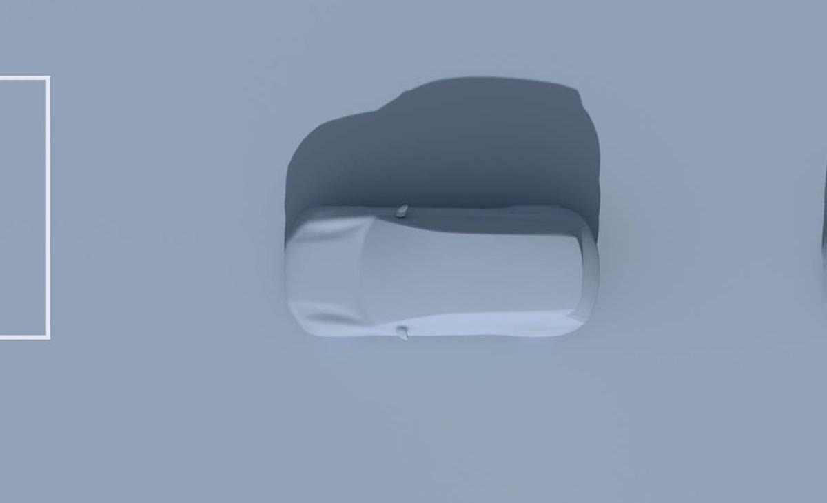 2022 Volvo XC90 Recharge overhead view teaser