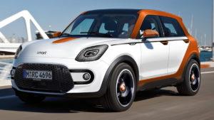2023 Smart Crosstown electric SUV rendering
