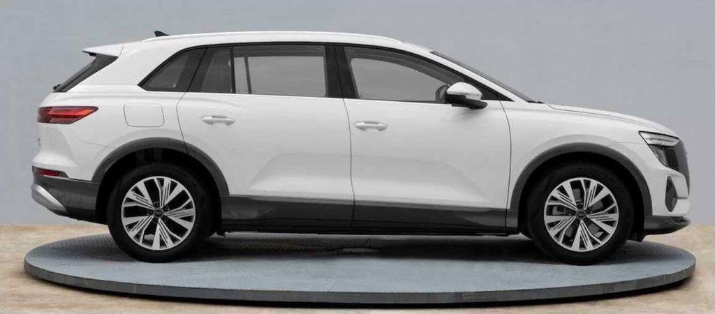 Audi Q5 e-tron side profile leaked image