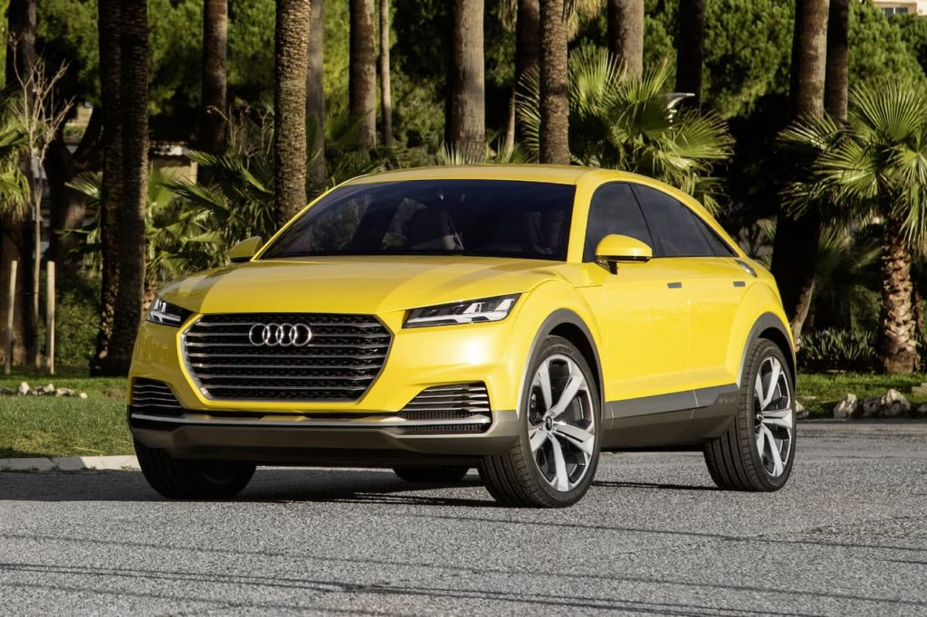 Audi TT SUV (Audi TT offroad concept) front three quarters