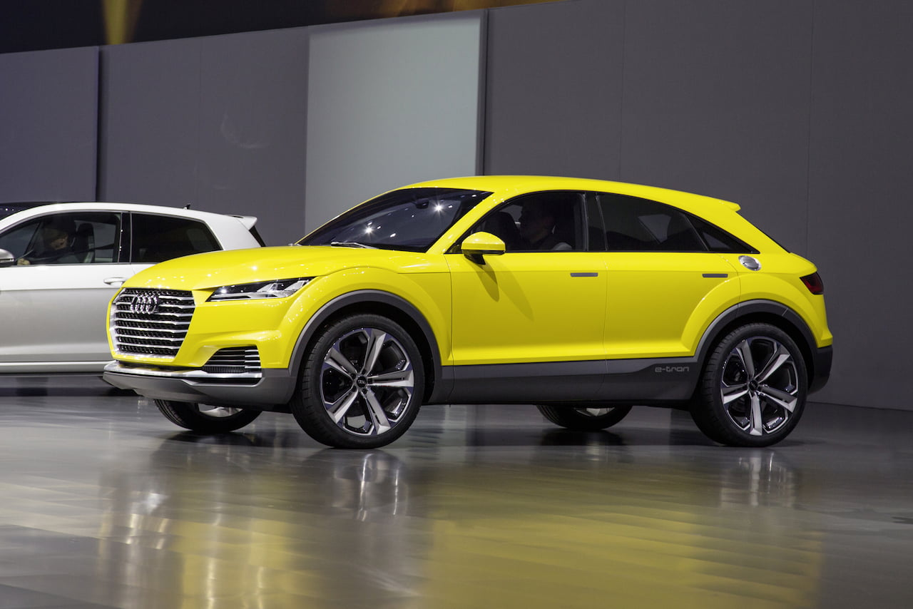 Audi TT SUV (Audi TT offroad concept) live image