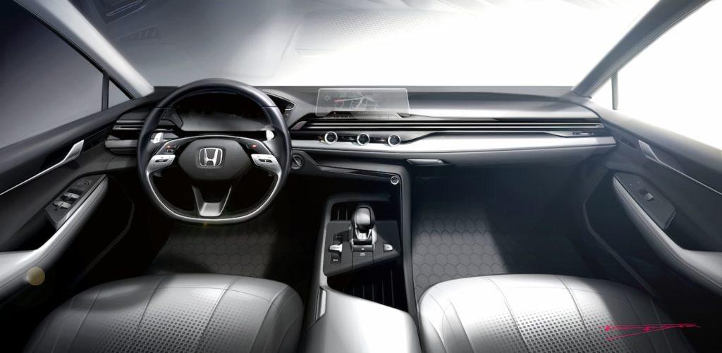 Honda interior design 2021