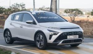 Hyundai Bayon front three quarters live image