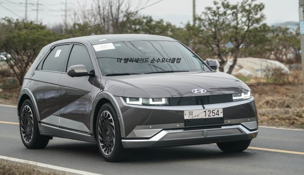 Hyundai Ioniq 5 Shooting-Star Gray Matte