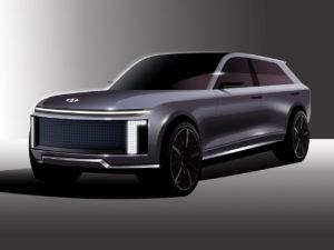 Hyundai Ioniq 7 rendering