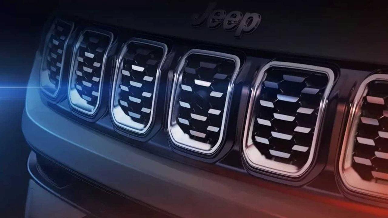Jeep grille teaser