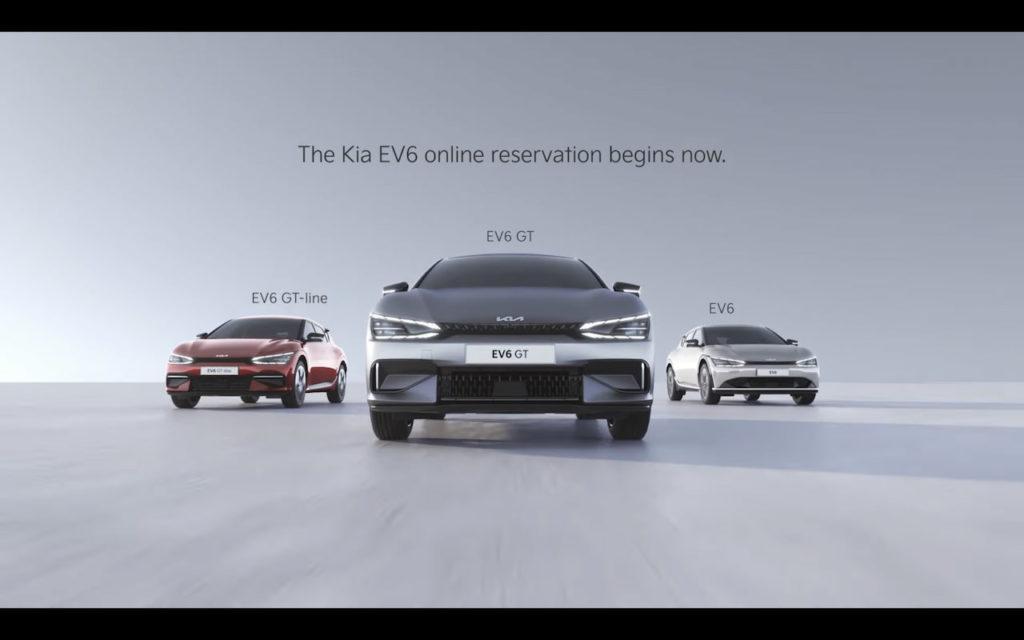 Kia EV6 GT-Line, EV6 GT and EV6