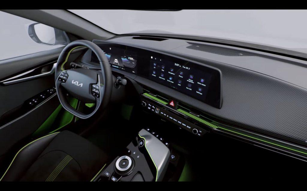 Kia EV6 GT dashboard instruments