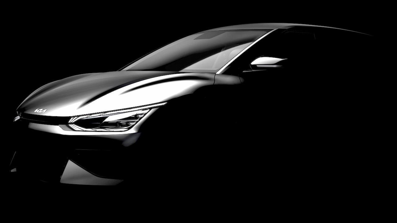 Kia EV6 Kia CV headlamp front teaser