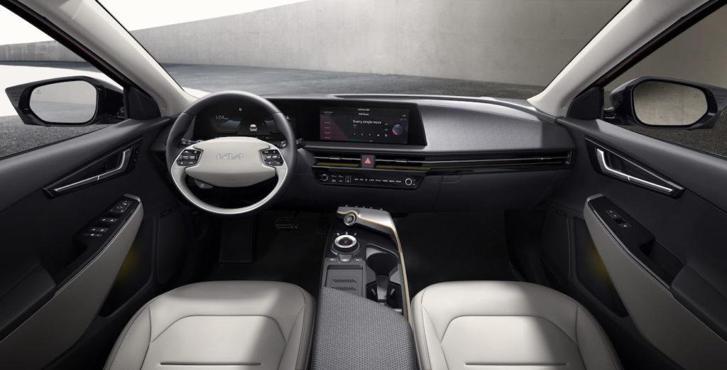 Kia EV6 interior dashboard