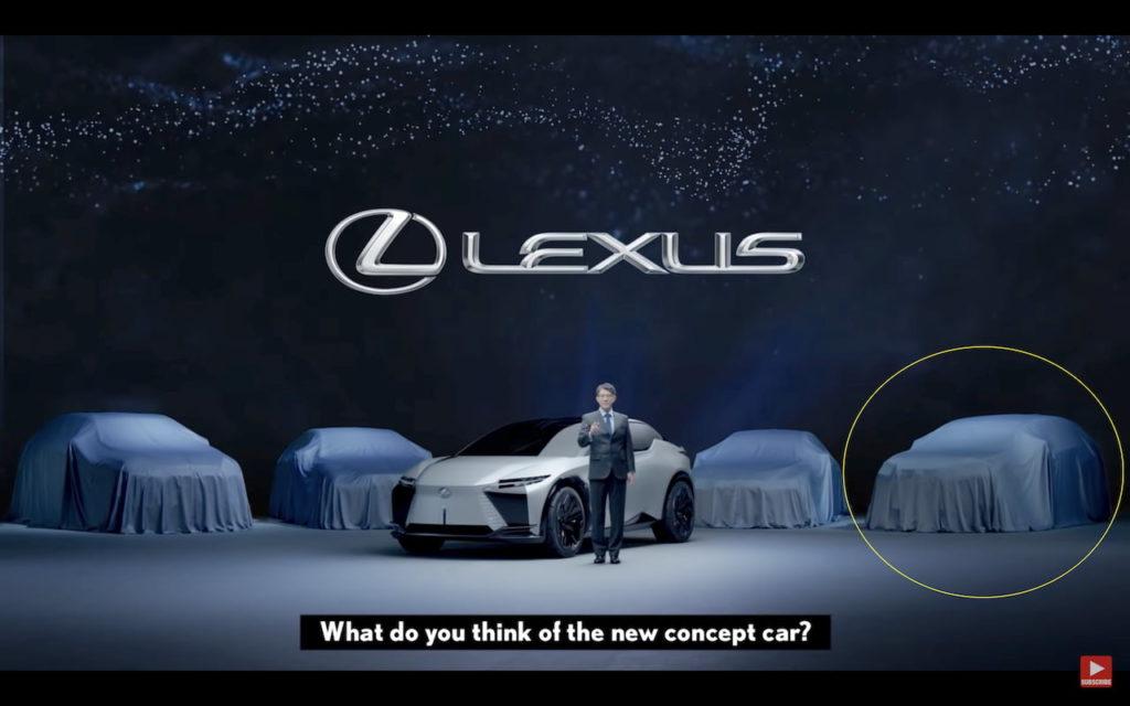 Lexus NX 2022 teased
