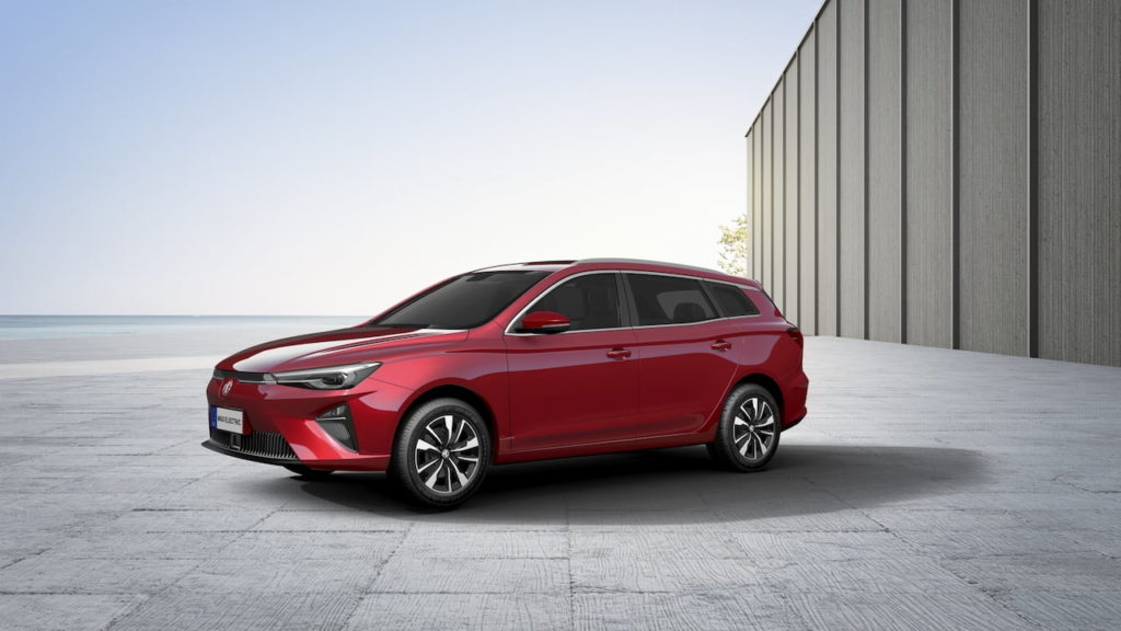 MG5 Electric wagon destined for Norway in October 2021