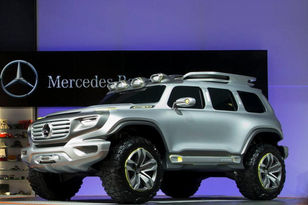 Mercedes Ener-G Force LA Auto Show 2012 live