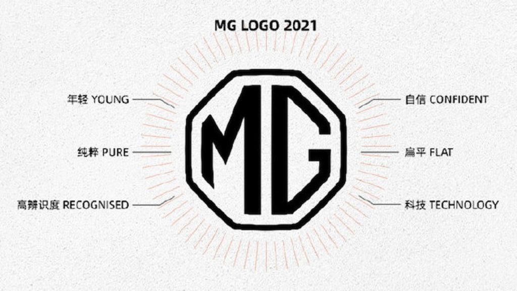 New MG logo 2021