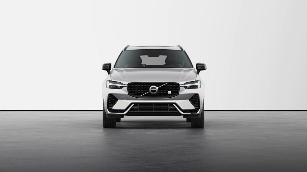 New Volvo XC60 2022 Polestar Engineered Silver Dawn front
