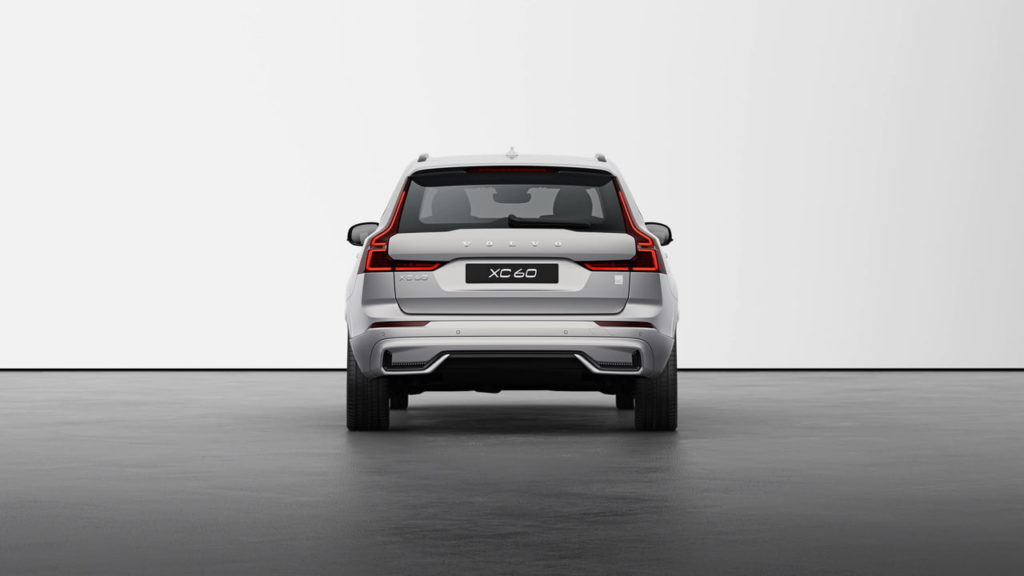 New Volvo XC60 2022 Polestar Engineered Silver Dawn rear