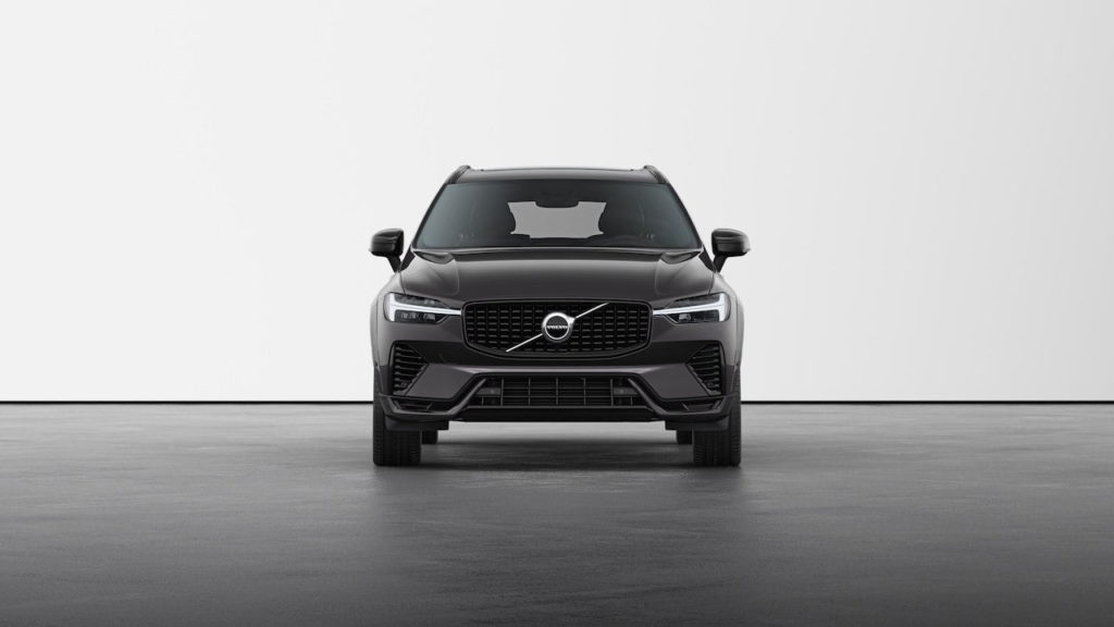 New Volvo XC60 2022 R-Design Platinum Grey front