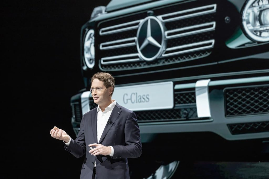 Ola Källenius has confirmed the Mercedes EQG / Mercedes G-Class electric