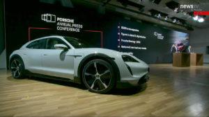 Porsche Taycan Cross Turismo side live image
