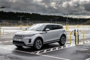 Range Rover Evoque plug-in hybrid charging new