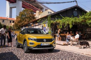 Old VW T-Roc that will be replaced by the new VW T-Roc facelift in 2021