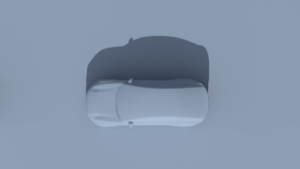 Volvo C60 (speculated) top view