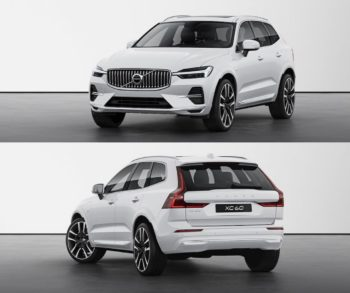 2022 Volvo XC60 (facelift) with Android-powered infotainment system leaked